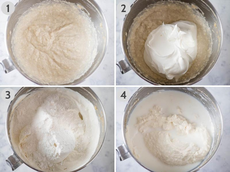steps for making no bake banana pudding in large mixing bowl