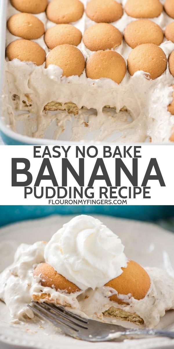 no bake easy banana pudding recipe
