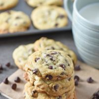 Best Ever Easy Chocolate Chip Cookies