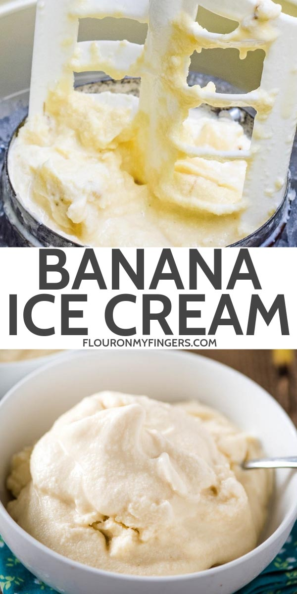 homemade banana ice cream recipe