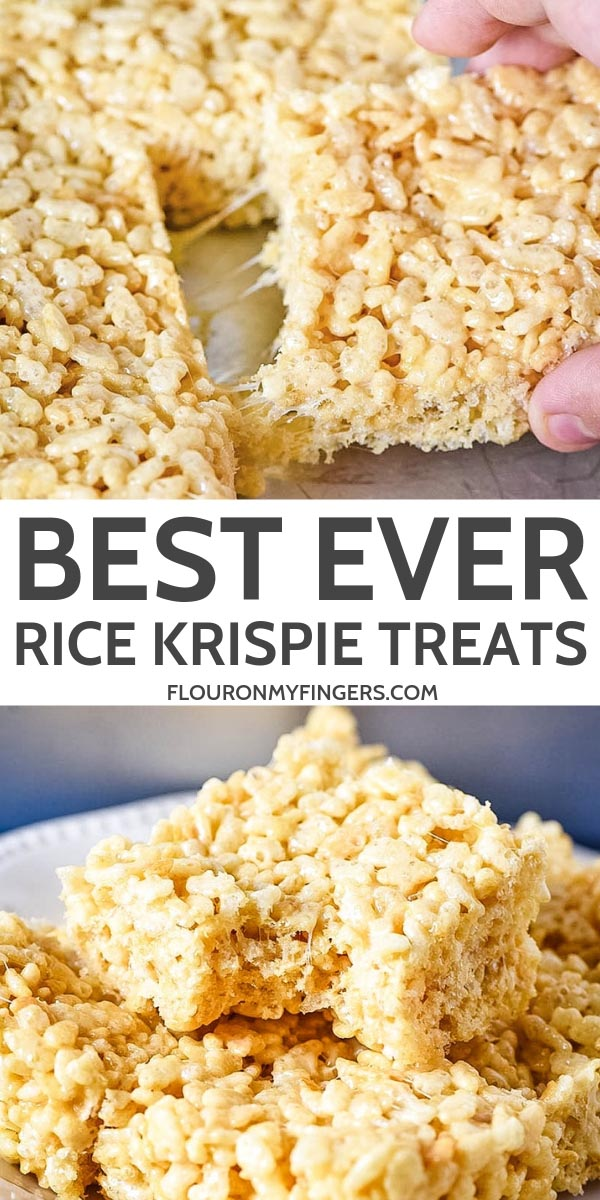 how to make the best Rice Krispie treats recipe