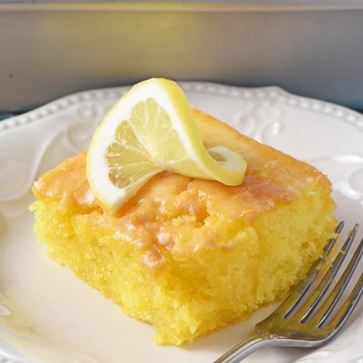 Deliciously Easy Lemon Sheet Cake