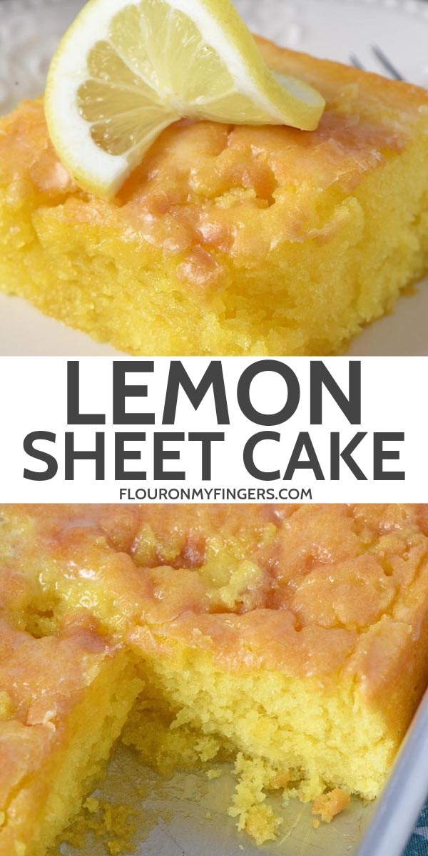easy lemon sheet cake recipe