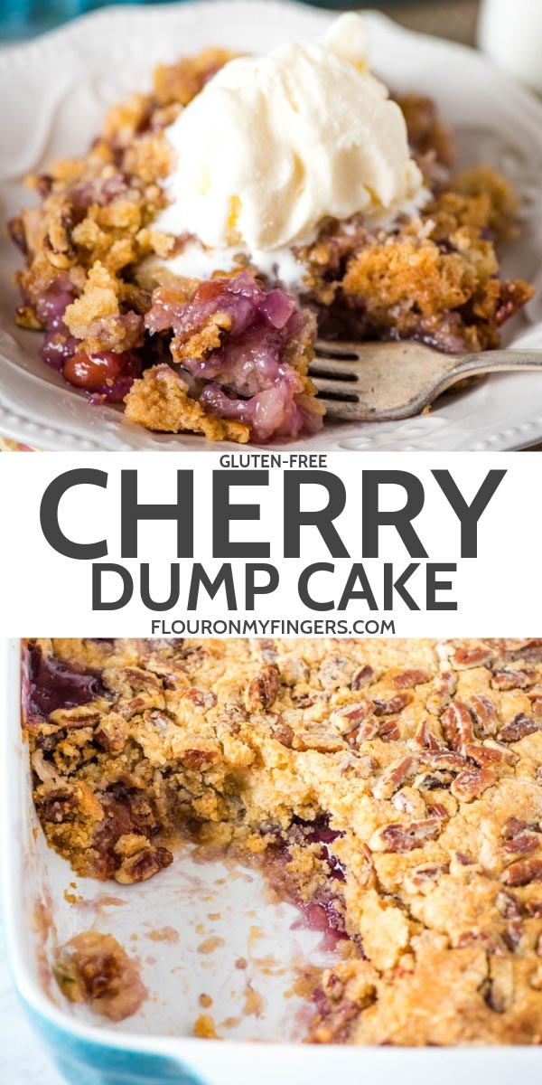 Easy Gluten-Free Cherry Dump Cake (with Video) | Flour on My