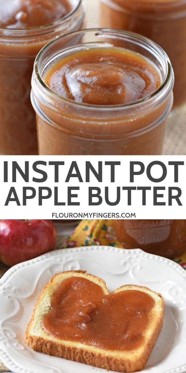 easy Instant Pot apple butter recipe