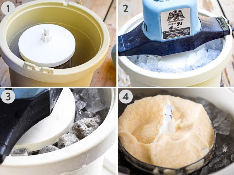 how to make homemade ice cream in an ice cream maker