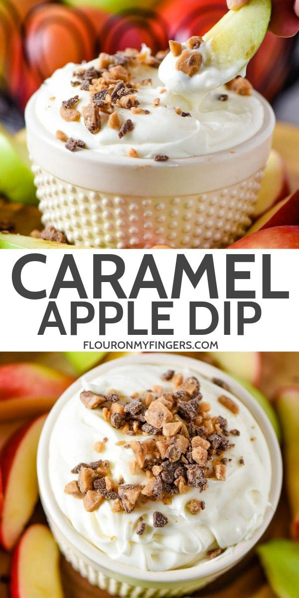 easy cream cheese caramel apple dip recipe