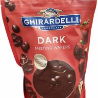 Ghirardelli Chocolate Dark Candy Melting Wafers