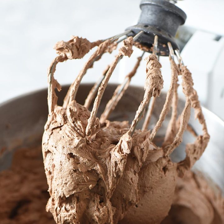 One Bowl Milk Chocolate Buttercream Frosting