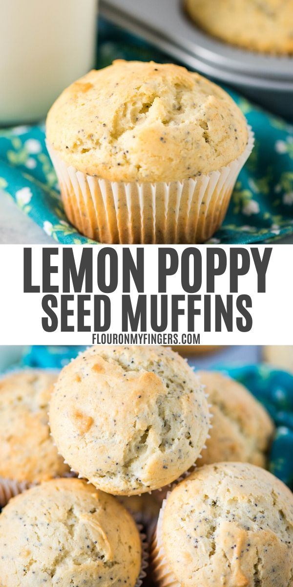 homemade lemon poppy seed muffin recipe