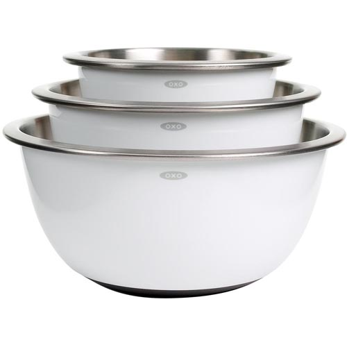 Oxo Good Grips 3 Pc. Stainless Steel Mixing Bowl Set